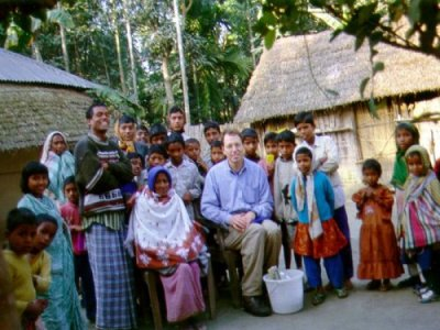 Dr. Frisbie is an Environmental Chemist.  He studies drinking water quality in Bangladesh.